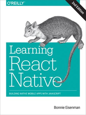 cover image of Learning React Native