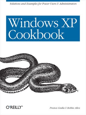 cover image of Windows XP Cookbook