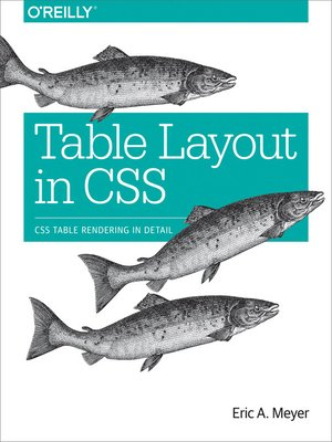 cover image of Table Layout in CSS