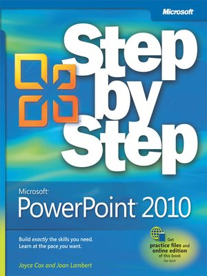 cover image of Microsoft® PowerPoint® 2010 Step by Step