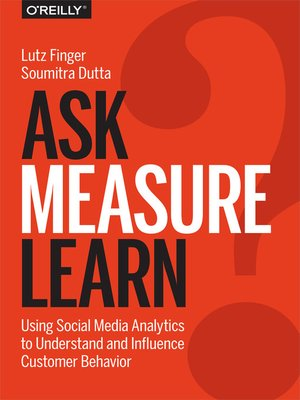 cover image of Ask, Measure, Learn