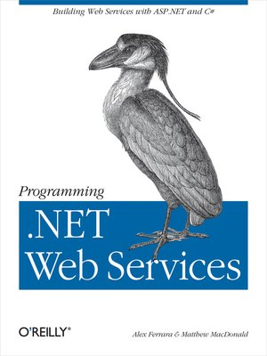 cover image of Programming .NET Web Services