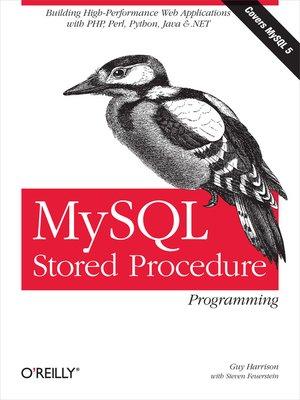 cover image of MySQL Stored Procedure Programming