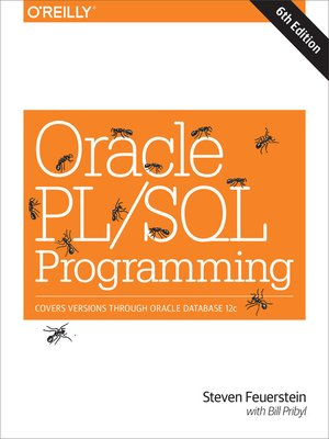 cover image of Oracle PL/SQL Programming