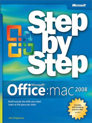 cover image of Microsoft® Office 2008 for Mac Step by Step