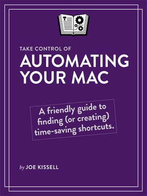 cover image of Take Control of Automating Your Mac
