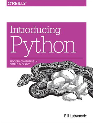 cover image of Introducing Python