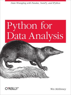 cover image of Python for Data Analysis