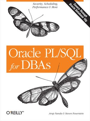 cover image of Oracle PL/SQL for DBAs