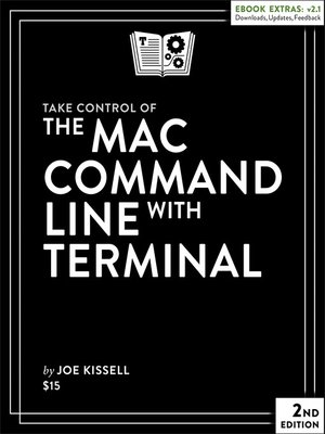 cover image of Take Control of the Mac Command Line with Terminal