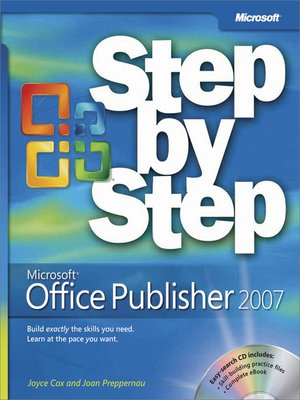 cover image of Microsoft® Office Publisher 2007 Step by Step