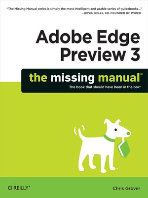 cover image of Adobe Edge Preview 3
