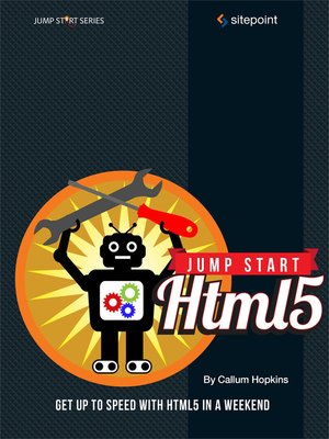 cover image of Jump Start HTML5