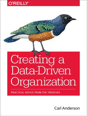 cover image of Creating a Data-Driven Organization