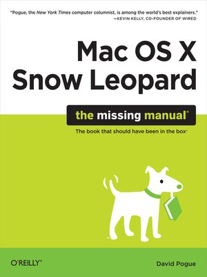 cover image of Mac OS X Snow Leopard