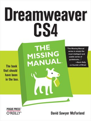 cover image of Dreamweaver CS4
