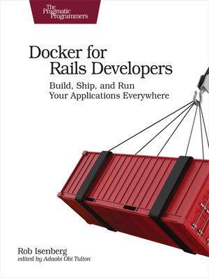 cover image of Docker for Rails Developers