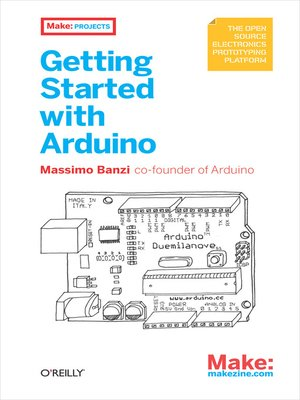 cover image of Getting Started with Arduino