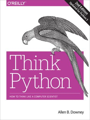 cover image of Think Python