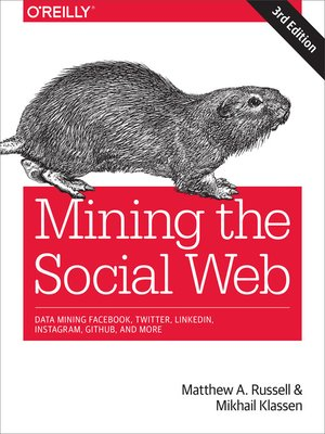cover image of Mining the Social Web