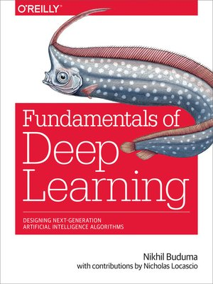 cover image of Fundamentals of Deep Learning