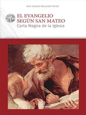 cover image of El evangelio según san Mateo