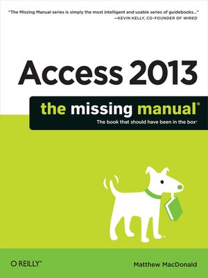cover image of Access 2013