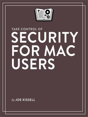 cover image of Take Control of Security for Mac Users