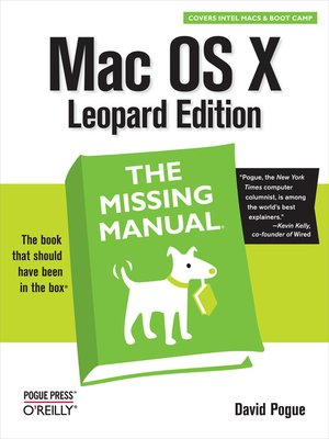 cover image of Mac OS X Leopard