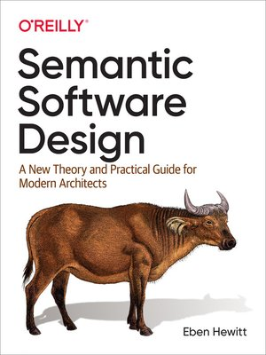 cover image of Semantic Software Design