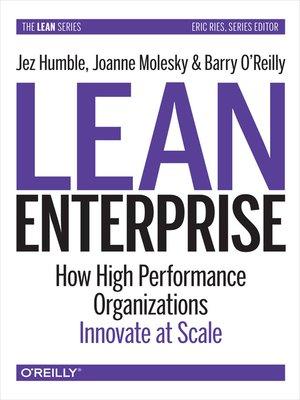 cover image of Lean Enterprise