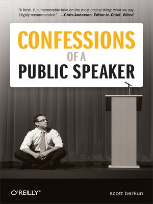 cover image of Confessions of a Public Speaker