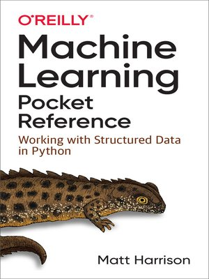 cover image of Machine Learning Pocket Reference