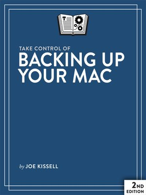cover image of Take Control of Backing Up Your Mac