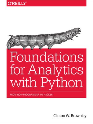 cover image of Foundations for Analytics with Python
