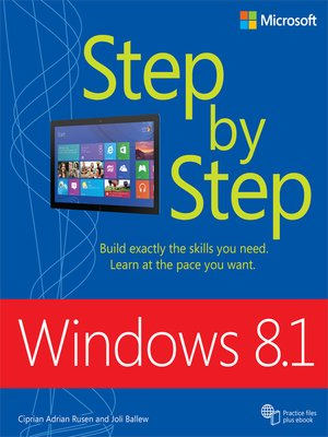 cover image of Windows 8.1 Step by Step