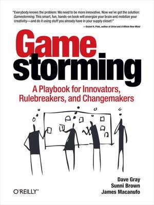 cover image of Gamestorming
