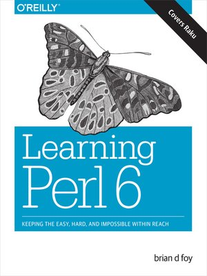 cover image of Learning Perl 6