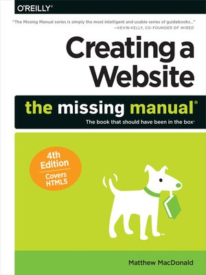cover image of Creating a Website