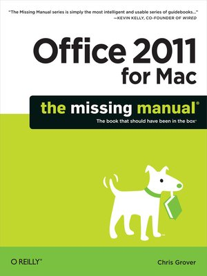 cover image of Office 2011 for Macintosh