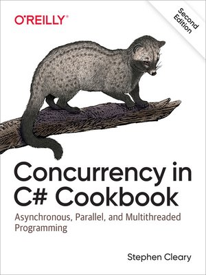 cover image of Concurrency in C# Cookbook