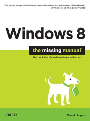 cover image of Windows 8