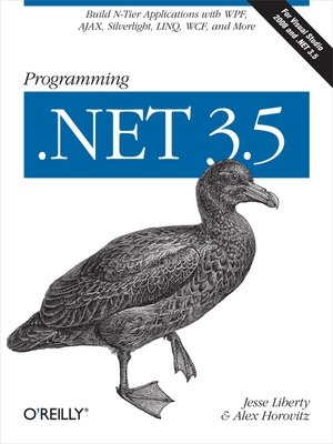 cover image of Programming .NET 3.5