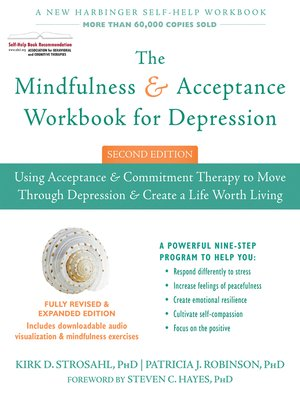 cover image of The Mindfulness and Acceptance Workbook for Depression