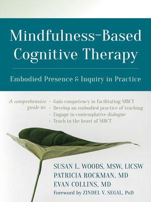 cover image of Mindfulness-Based Cognitive Therapy