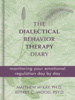 cover image of The Dialectical Behavior Therapy Diary