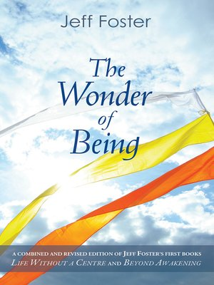 cover image of The Wonder of Being
