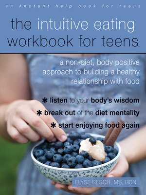 cover image of The Intuitive Eating Workbook for Teens