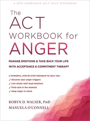cover image of The ACT Workbook for Anger
