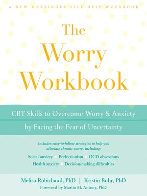 cover image of The Worry Workbook